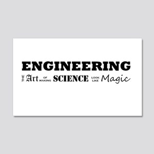 Engineering Definition 20x12 Wall Decal