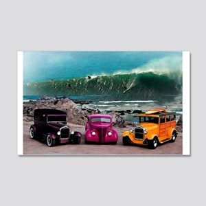 Wave Rides Wall Decal