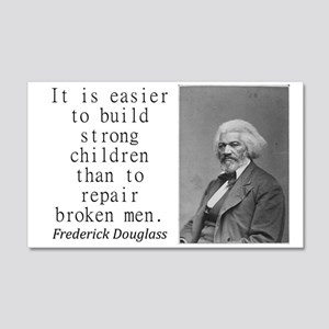It Is Easier To Build Wall Decal