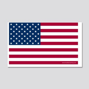 American Flag 20x12 Wall Decal