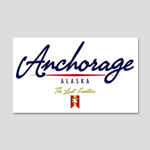 Anchorage Script W 20x12 Wall Decal