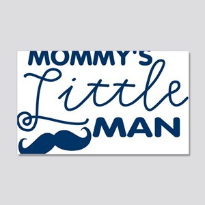 Mommys Little Man 20x12 Wall Decal