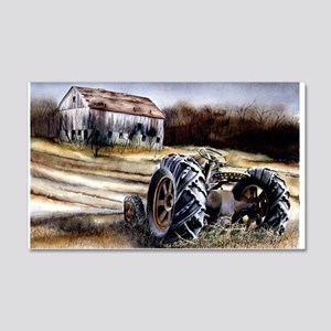 Old Tractor 20x12 Wall Decal