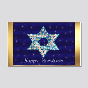 Gems and Sparkles For Hanukkah 20x12 Wall Decal