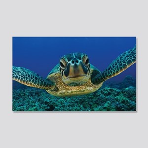 Turtle Swimming Wall Sticker