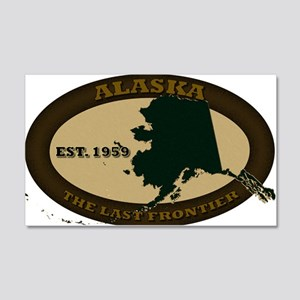 Alaska Est 1959 20x12 Wall Decal
