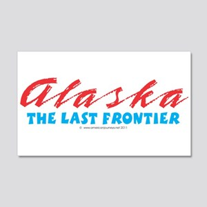 Alaska - Last frontier 20x12 Wall Decal