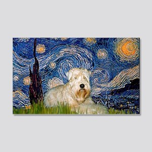 Starry / Wheaten T #1 20x12 Wall Decal
