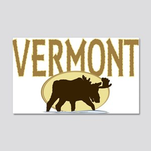 VTMoose 20x12 Wall Decal