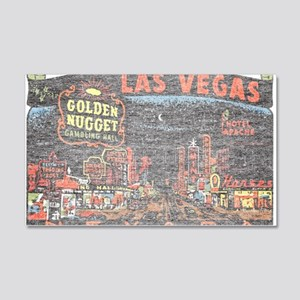 Vintage Las Vegas Strip Wall Decal