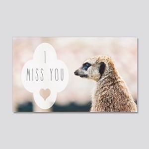 I Miss You meerkat Wall Sticker