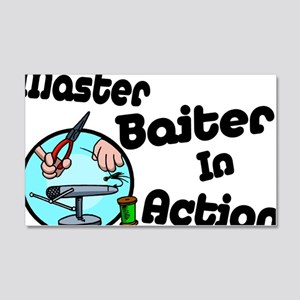 Master Baiter 20x12 Wall Decal