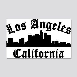 Los Angeles, CA 20x12 Wall Decal