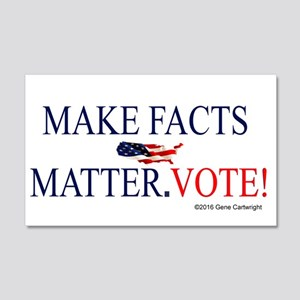 Make Facts Matter. Vote. Wall Decal