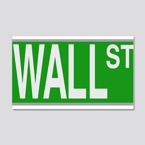 Wall Street Sign Wall Decal