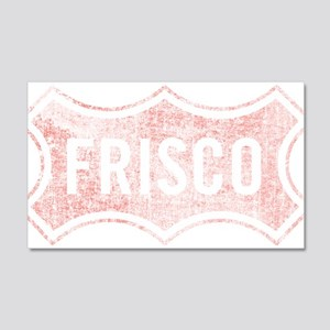 Faded Frisco Wall Decal