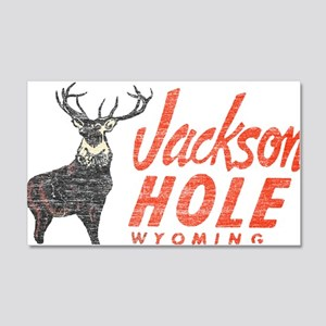 Vintage Jackson Hole 20x12 Wall Decal