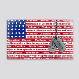 """Thank You Veteran"" 20x12 Wall Decal"