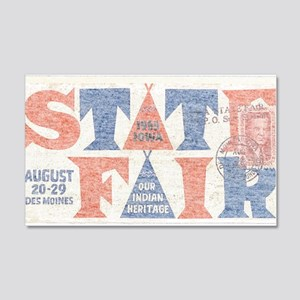 Vintage Iowa State Fair Wall Decal
