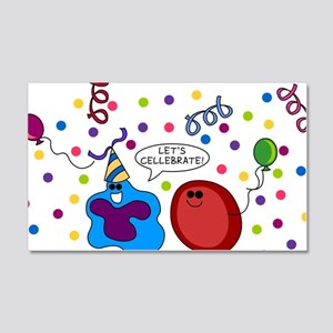 cellebrate 20x12 Wall Decal