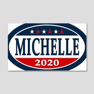 Michelle Obama 2020 20x12 Wall Decal
