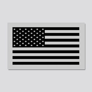 Subdued US Flag Tactical 20x12 Wall Peel