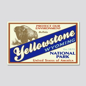 Yellowstone (Buffalo) 20x12 Wall Peel