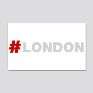Hashtag London Wall Sticker