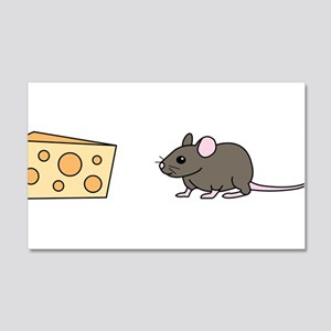 Mouse and Cheese Wall Decal