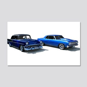 Custom Cars 22x14 Wall Peel