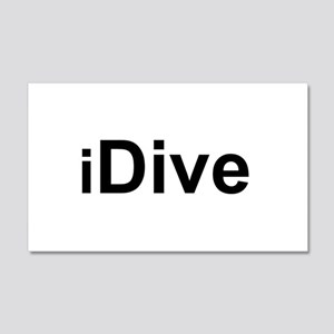 iDive 20x12 Wall Decal