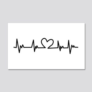 Heart Beat Wall Decal