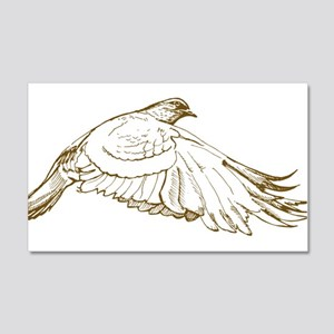White Pigeon Wall Decal