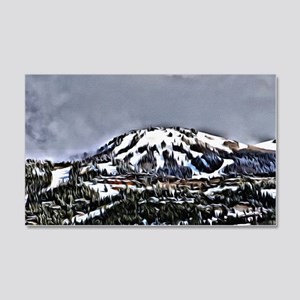 Park City Mountain Digital Painti 20x12 Wall Decal