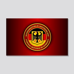 German Emblem 20x12 Wall Decal