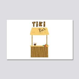 Tiki Bar Wall Decal