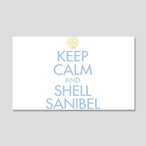 Keep Calm and Shell - 20x12 Wall Decal