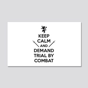 Trial By Combat 22x14 Wall Peel