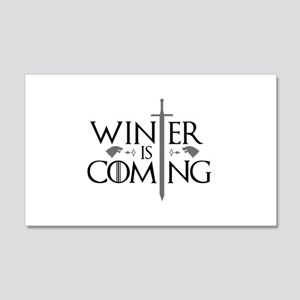 Winter Is Coming 22x14 Wall Peel