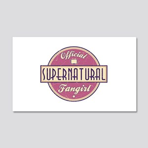 Official Supernatural Fangirl 22x14 Wall Peel