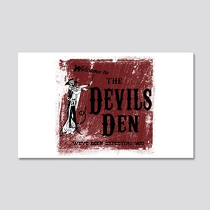 Devils Den 20x12 Wall Decal