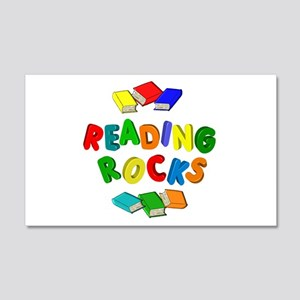 READING ROCKS 20x12 Wall Decal