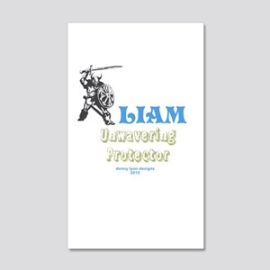 Your Name Liam 20x12 Wall Decal
