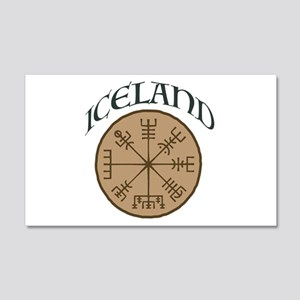 Iceland 20x12 Wall Decal