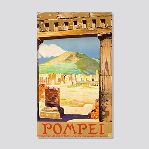 Pompei Italy ~ Vintage Travel 20x12 Wall Decal