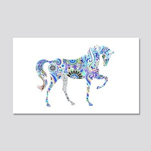Cool Colorful Horse Wall Decal