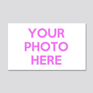 Customize photos Wall Decal