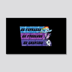 My Little Pony Be Fearless Fabulo 20x12 Wall Decal