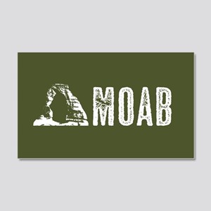 Moab, Utah: Delicate Arch 20x12 Wall Decal