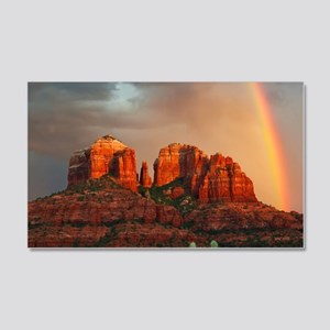 Rainbow In Grand Canyon Wall Sticker